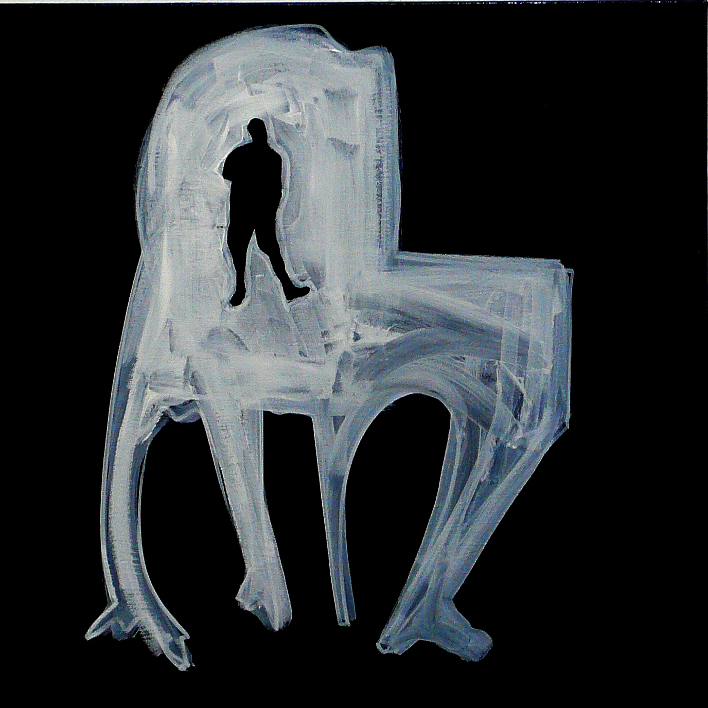 """CHAIR / MAN : IN THE DARK I NEED YOU #01"""