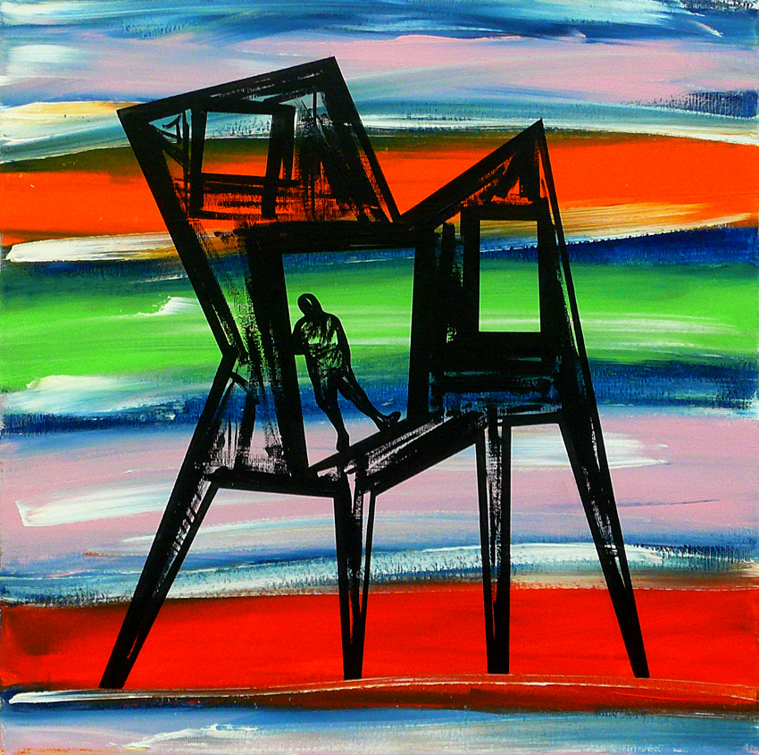 """CHAIR / MAN : ME, INSIDE #05"""