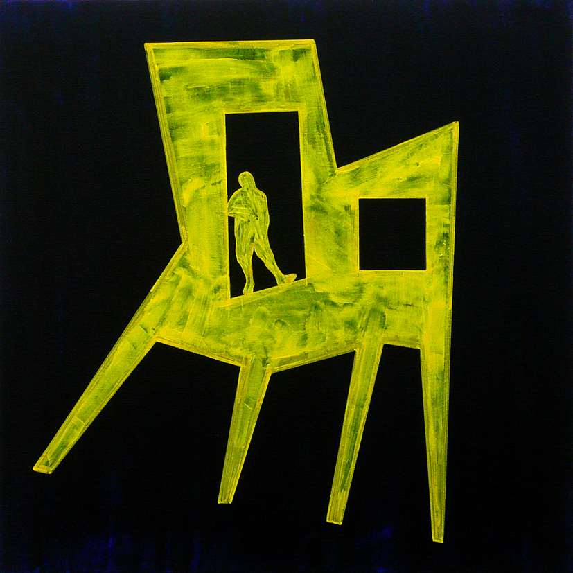 """CHAIR / MAN : ME, INSIDE #06"""