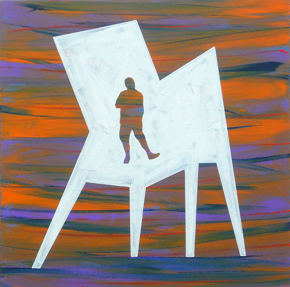 """CHAIR / MAN : ME, INSIDE #07"""