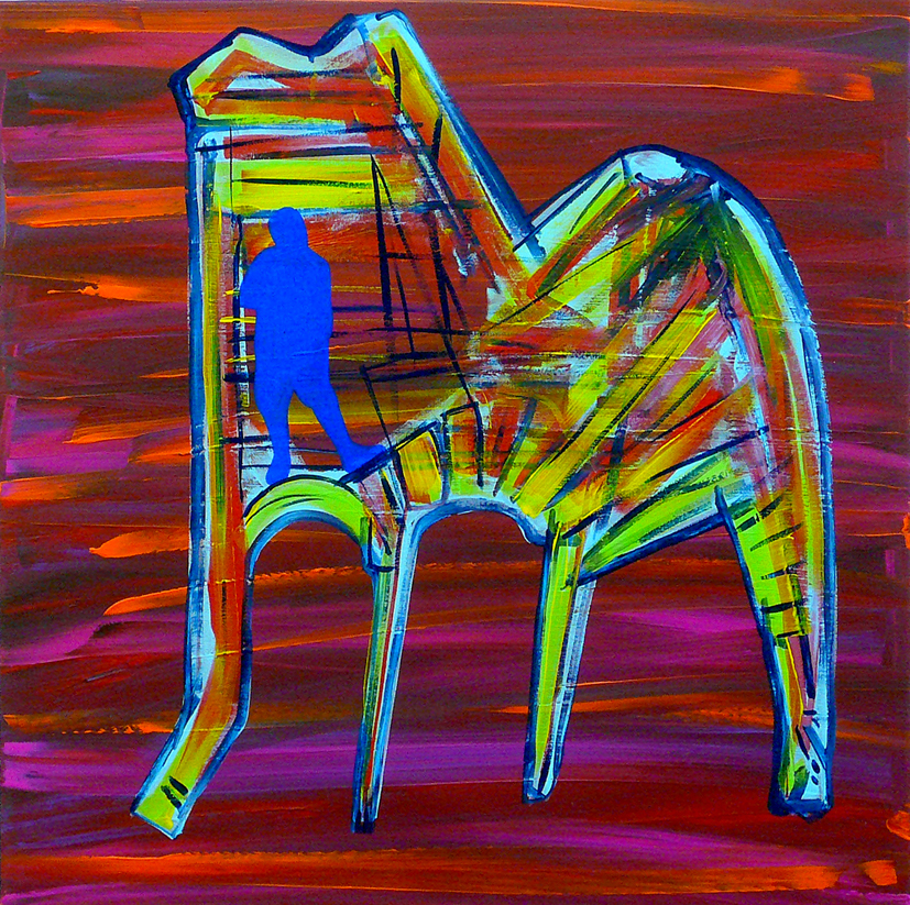 """CHAIR / MAN : ME, INSIDE #08"""