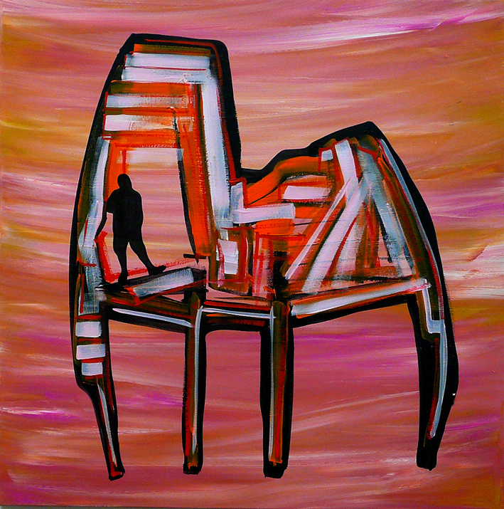 """CHAIR / MAN : ME, INSIDE #09"""
