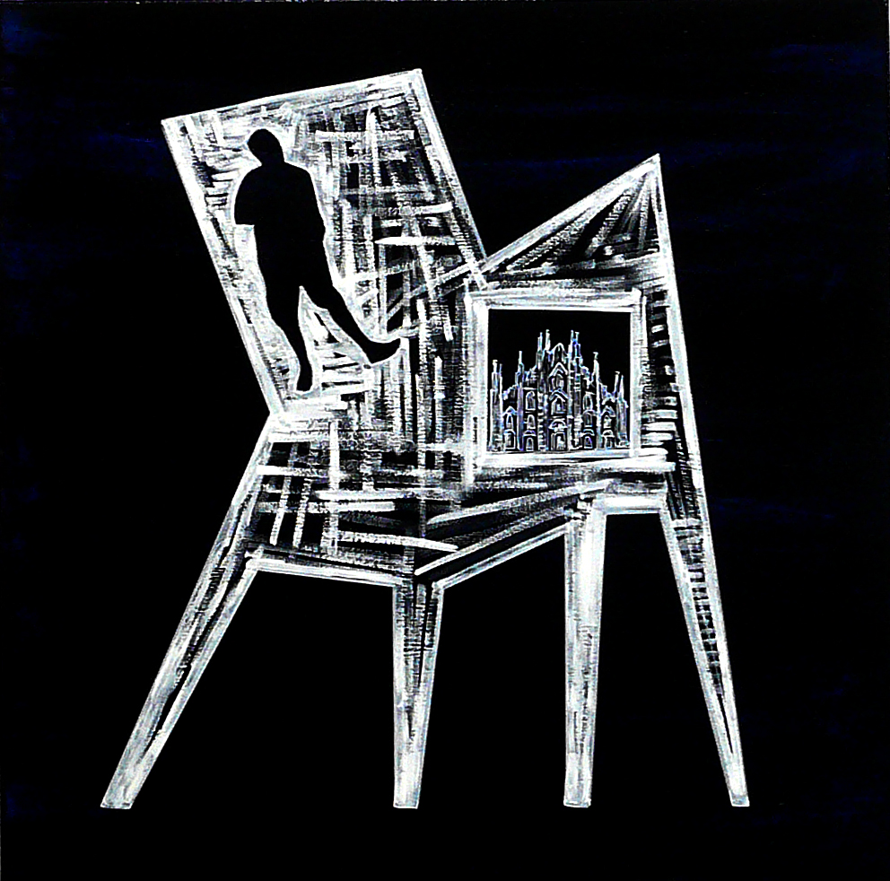 """CHAIR / MAN : MILANO"""