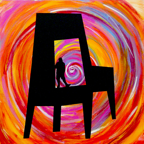 """CHAIR / MAN : VORTEX INSIDE"""